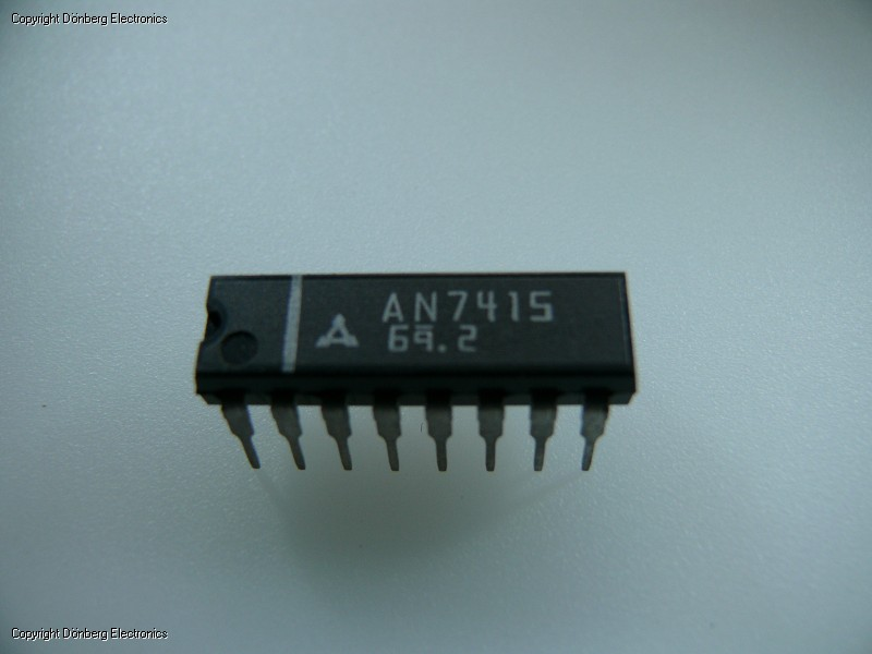 Semiconductor: AN7415 (AN 7415) - STEREO DECODER 16P